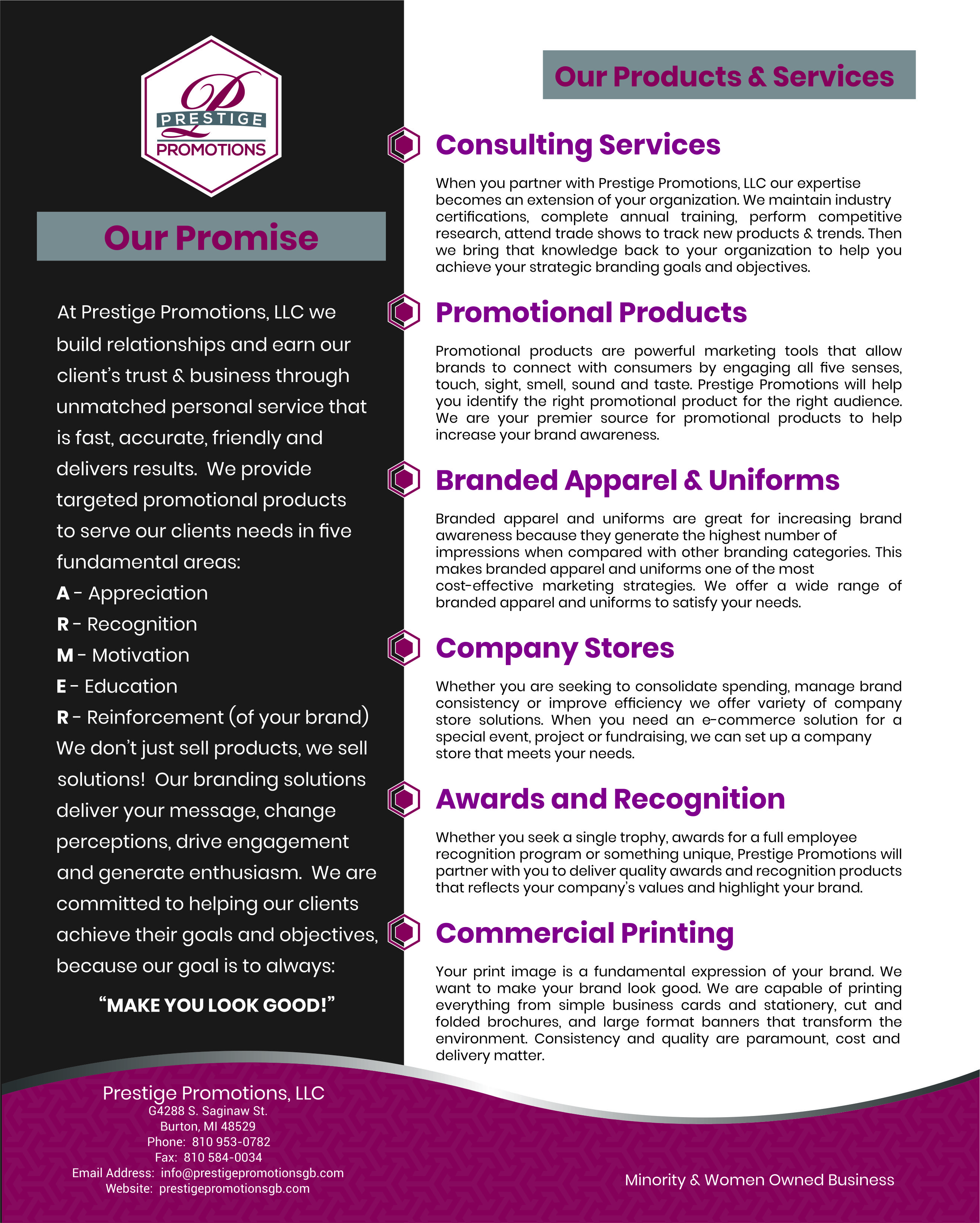 Our Products & Services