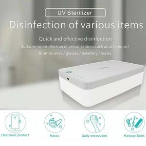 UV Sanitizing Box With Wireless Charger (5W/10W)