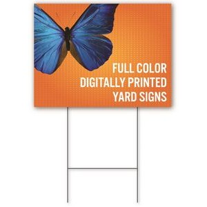 Yard Sign 12'' x 24'' - Single-sided